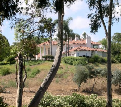 Randy Duke Cunningham home in Rancho Santa Fe, California