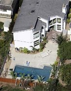 Aerial view of Duke Cunningham's old Del Mar Heights Home (Union-Tribune)